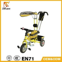 CE Certificate kid tricycle/ european standard tricycles for toddlers