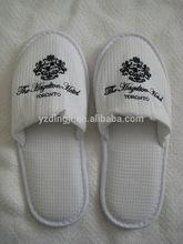 coral fleece hotel slipper,high quality hotel slipper. salon spa slipper pedicure disposable nail art hotel slipper