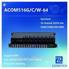 2015 hotsale Ejoin 16 port 64 sim gsm gateway FXO/FXS voice home gateway