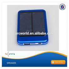 AWC386 5000mah solar cell power bank solar power bank 5000