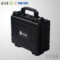 waterproof shock proof PP hard plastic injection molded case /equipemnt case