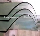 6mm Physical toughened glass/ tempered glass/Thermal tempering glass