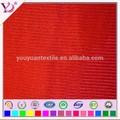 Materiais 100% algodão tarja despertar tecido para roupas de basquete