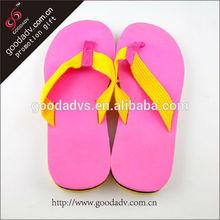 hot selling unique shape Beautiful Summer beach wedding flip flops