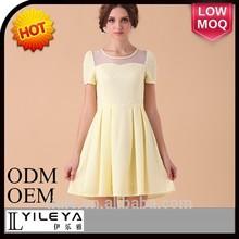 Best selling elegant design style fashion dress summer dress for girls