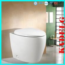 Western style EU standard back to wall ceramic toilet bowl