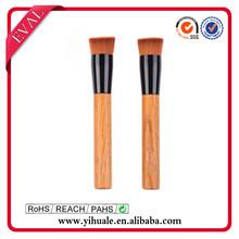 Hot selling color nylon flat brush brush