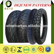 Deji Brand/OEM various pattern mototcycle tyres 110/90-19 motorcycle off road tire