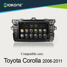OEM car dvd android 4.2.2 system with 3g/wifi For Toyota Corolla 2006 to 2011