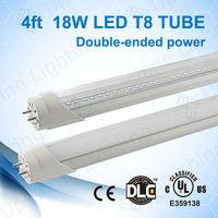 Promotional Tube !!! UL&CUL/DLC/PSE/TUV /SAA single/double ended power hotsell school 8 tube no flickering led tube 8 china