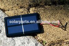 Epoxy laminated portable solar panel,module for solar toys