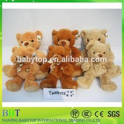 Factory direct cute cheap plush teddy bear for sale