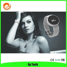 fashion lady watch PAI bluetooth sport pedometer sleeping monitor smart watchs IOS and Android