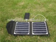 High efficiency foldable Sunpower solar charger