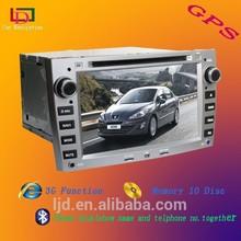 car dvd gps navigation for peugeot 407/408