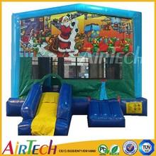 top selling PVC Tarpaulin inflatable castle bed kids