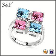 YIWU FACTORY!! Newest Style Crystal fancy key rings