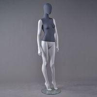 glossy female mannequin dummy
