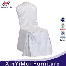 Ivory Folding Polyester Chair Cover For Wedding