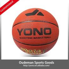 2015 New YONO YN-008-3 Classic basketball laminated PU basketball accessories