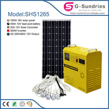 portable small home solar powered wireless outdoor speaker