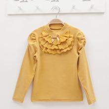 ta2041 children clothing factory autumn winter long sleeve girls t shirt