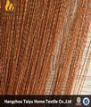 2014 listo hecho entrega rápida de bambú colorido de la cortina de la puerta