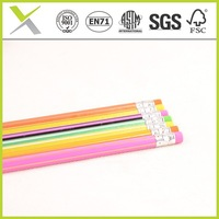 YiWu 7' wooden pencil quality novelty quality print on pencils