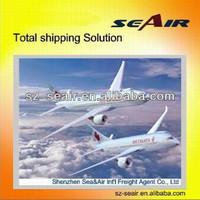 Shenzhen air freight rates to RDU, Raleigh-Durham by air shipping