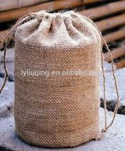 Venta al por mayor pequeño yute bolsa, Pequeño yute regalo bolsa