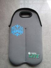 Soft Neoprene 4 pack bottle carrier for beer