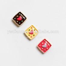 lovely Korean love shape 3d resin fridge magnet home decoration