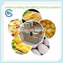 Hot sale low price potato peeling / slicing /shredding machine
