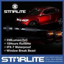 STARLITE Super bright IPX7 window break led hand torch light