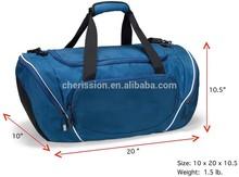 20-inch Large NAVY BLUE Gym Bag Athletic Sport Shoulder Bag for Men