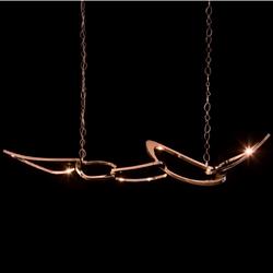 Pangea LED suspension chandelier unique light for hotel