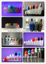 5ml,10ml,20ml,30ml PET/LDPE plastic dropper bottles, plastic e-liquid bottle, e liquid bottle made in china