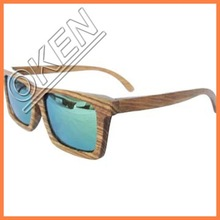 OK-S4007 FDA Approval bamboo eyewear China supplier wood Sunglasses
