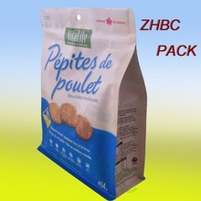 high quality pet dog food bag with resealable zipper