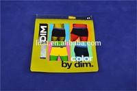 China custom printed aluminum foil zip lock bag for clothes
