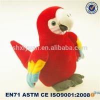 Toys 2015 Stuffed Animal Plush Parrot Red Bird