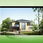 fast construction prefab 200m2 house plans