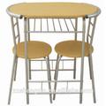 la parte superior la venta al por mayor moderno escritorio de madera y sillas de buena calidad de juegos de comedor