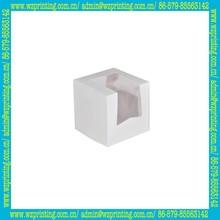 custom promotional mini box hamburger with window