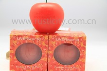 Supply Creative Red Apple Candle For Christmas