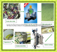 High Oil Yield Popular in Italy Greece Tunisia Virgine Olive Oil Production Line