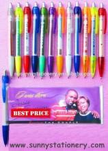 hot sale colourful picture folding ballpoint pen