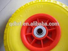 Qingdao Manufacturer pneumatic solid rubber wheel for wheelbarrow