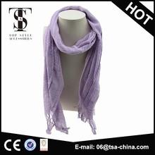 wholesale tartan woven cheap cotton scarf