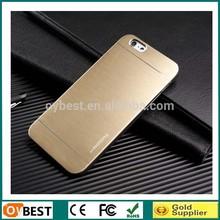 Qualtity Aluminum Case for iPhone 6 plus PC+Aluminum Mix Color Supported